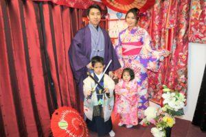 香港的家族,第二次一起穿和服漫步在淺草