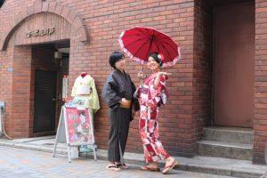 來自台灣的客人#紳士浴衣#淺草寺