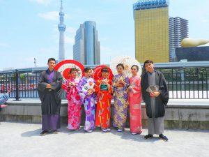 台湾からのお客さまです????皆さんそれぞれ個性のある素敵なお着物がとてもお似合いです\(^o^)/着物体験ありがとうございます!