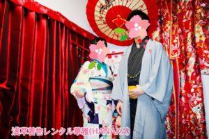 #限定プラン をご利用のお客様です❤️❤️ お二人共 #和服 がお似合いで素敵ですね! 仲良く #浅草散策 へお出掛けです😊 2回目のご利用です。
