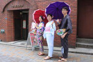 來自台灣的好朋友們來淺草觀光!