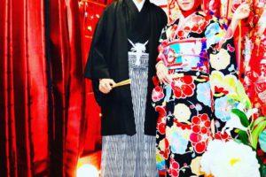 インドネシア袴と振袖