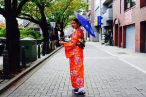 海外からお越しのお客様です💕 撮影でご利用頂きました(*^◯^*) 伝統的な和柄のお着物をとても素敵に着こなして下さいました👘✨ 浅草観光楽しんで下さいね🎵 来自海外的客人。 为了拍照专门来的。
