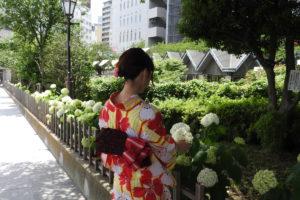 東京・浅草着物レンタル華雅(HANAKA)の浴衣