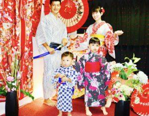 台湾からご家族でお越しのお客様です😊 お子様も浴衣姿とても可愛いらしいですね😍👘 日本旅行楽しんで下さいね✈️ 来自台湾的客人,连同小宝宝大家都选择了浴衣体验,超级可爱、浴衣👘全家福很棒喔💕😊