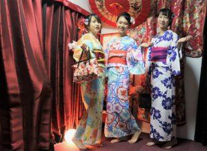 來自中國的客人#浴衣體驗#友情