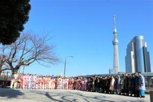 60位中國學生一起體驗和服