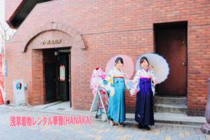 #袴プラン をご利用のお客様です👘 限定キャンペーンで¥4500からプランがございます。🌸🌸🌸 體驗袴方案的客人👘 限定方案¥4500起🌸🌸