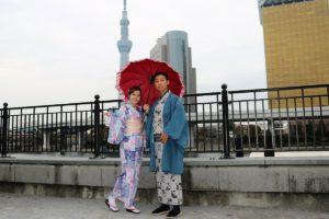 香港情侶一起穿和服~