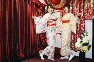 來自台灣的表姊妹哦,兩位都非常俏麗呢~歡迎你們來淺草觀光!