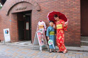 從中國來的客人,可愛母子檔!