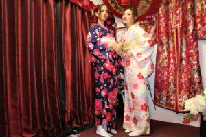 フランスから着物体験 來自法國的顧客們來體驗和服