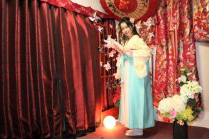 袴で記念撮影