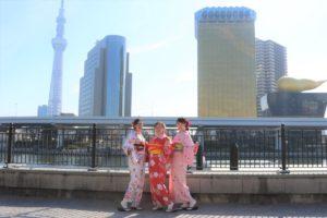 中國來的親切客人,再搭飛機回國之前特地來體驗,謝謝你們!