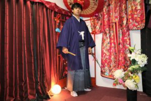 素敵な袴で卒業式にご出席