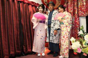 ご家族で着物の伝統体験