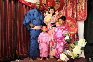 ご家族で香港,浴衣体験