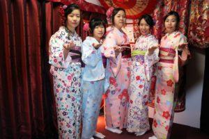 香港來日本過新年的客人