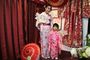 帶著四歲女兒一起來體驗和服