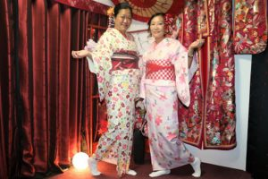 香港來的客人,初次體驗浴衣呢!