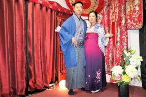 香港來的夫妻,一起體袴