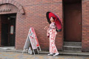 東京旅程的最後一天,謝謝您來體驗和服喔!!祝您玩得開心
