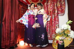 香港からお越しのお客様です。袴をご利用ありがどうございます。浅草楽しんでくださいね。