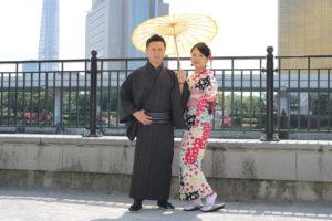 #お着物 がお似合いの #素敵 なカップルです。