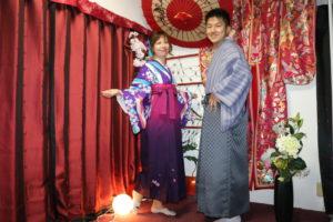 來自#香港 的客人體驗了 #傳統的 #袴