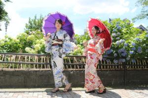 #浴衣體驗 台灣女大生的畢業旅行