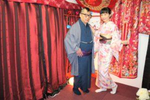 兩位來自香港的客人,謝謝您們來淺草體驗和服
