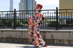 #浅草着物レンタル #和服出租 #団体プラン #HKT48 #宮脇咲良