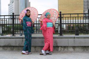和服祖賃 #東京 #着物レンタル #人力車と着物 #浅草華雅 #ポートレート