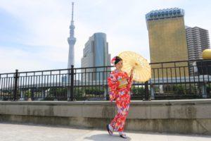 #着物美人 #kimono #기모노 #아사쿠사