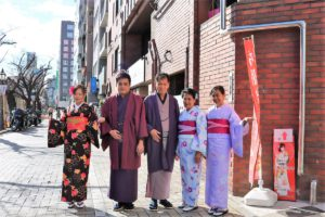 Customers from  Philippines. They look wonderful in Kimono!