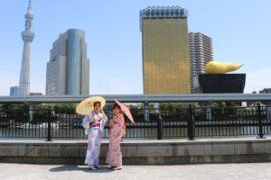 #東京觀光 #淺草和服體驗 #日本旅行