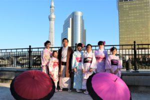 台湾、家族、浅草観光