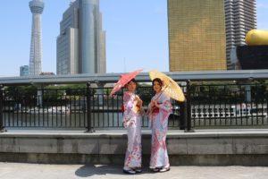 #宮脇咲良 #卒業旅行 #和服體驗