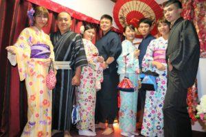 #台湾からお越しの#ご家族様です。#二回目のご利用、#体験ありがとうございます。 來自#台灣的#家族一同#體驗#和服,非常#可愛帥氣呢!!