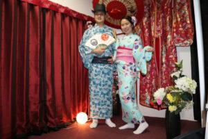 USAから素敵な紳士、淑女 從美國來日本旅行的客人,看起來非常紳士、淑女呢!