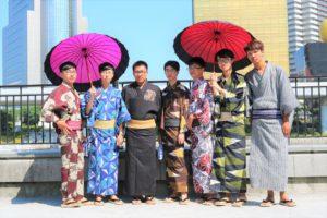 台湾からお越しのお客様です。仲よしグループですね。卒業旅行で男性同士のグループでご利用です。