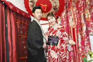 伝統的なお着物をお選び頂きました。浅草散策楽しんで下さいね😊 客人選擇了傳統風格的和服,兩人非常登對,很可愛唷~祝您在淺草玩得愉快😊