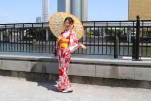 #人力車と着物 #卒業式袴 #浅草華雅