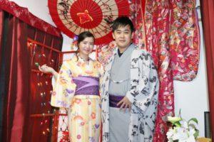 伝統的な着物や浴衣をお選び頂きました👘華やかで素敵です😊 浅草観光楽しんで下さいね(*^▽^*)