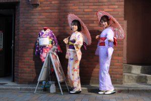 #和服祖賃 #東京 #着物レンタル #人力車と着物