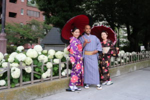 #Australia #Kimono 從澳洲來體驗和服的客人