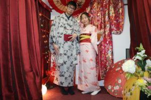 来自海外的客人😊男生选择了非常有气派的和服女生选择了非常可爱的和服👘👘祝两位在浅草玩的快乐🤗