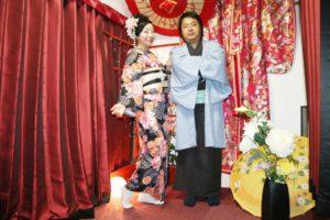 海外から #新婚旅行 でお越しのお客様です❤️ #浅草 を伝統的な #和服 で観光にお出掛けです😊素敵な思い出になりますね🎵🎵  來自海外的客人 #蜜月旅行 ❤️ 來淺草玩穿傳統的 #和服 😊留下美好的回憶🎵🎵