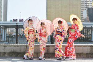 海外からお越しのお客様です😊 仲良しグループで #和服体験 に👘皆様とても艶やかなお #着物 をお選び頂き、素敵です(*'▽'*) #日本旅行 の思い出になりますね🎵  來自海外的客人😊 閨蜜一起來 #和服體驗 👘大家都挑選了好美豔的 #和服、好水唷(*'▽'*) #日本旅行 的美好回憶🎵