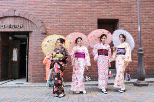 #タイランド  4名様 #和服体験 ありがとうございます😊とても素敵です(*'▽'*) #日本 伝統和服体験ありがとうございます